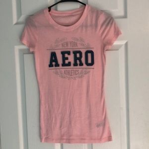 Aéropostale Size Small Pink Tee Shirt
